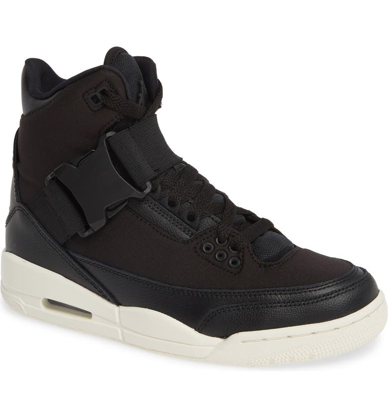 JORDAN Air Jordan 3 Retro EXP XX High Top Sneaker, Main, color, 001