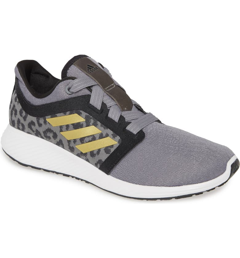 ADIDAS Edge Lux 3 Running Shoe, Main, color, GREY/ GOLD METALLIC/ WHITE