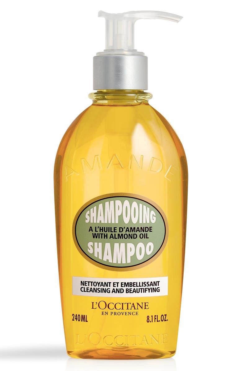 L'OCCITANE Almond Oil Shampoo, Main, color, NO COLOR