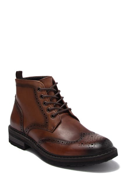Image of Kenneth Cole Reaction Design Wingtip Lace-Up Boot