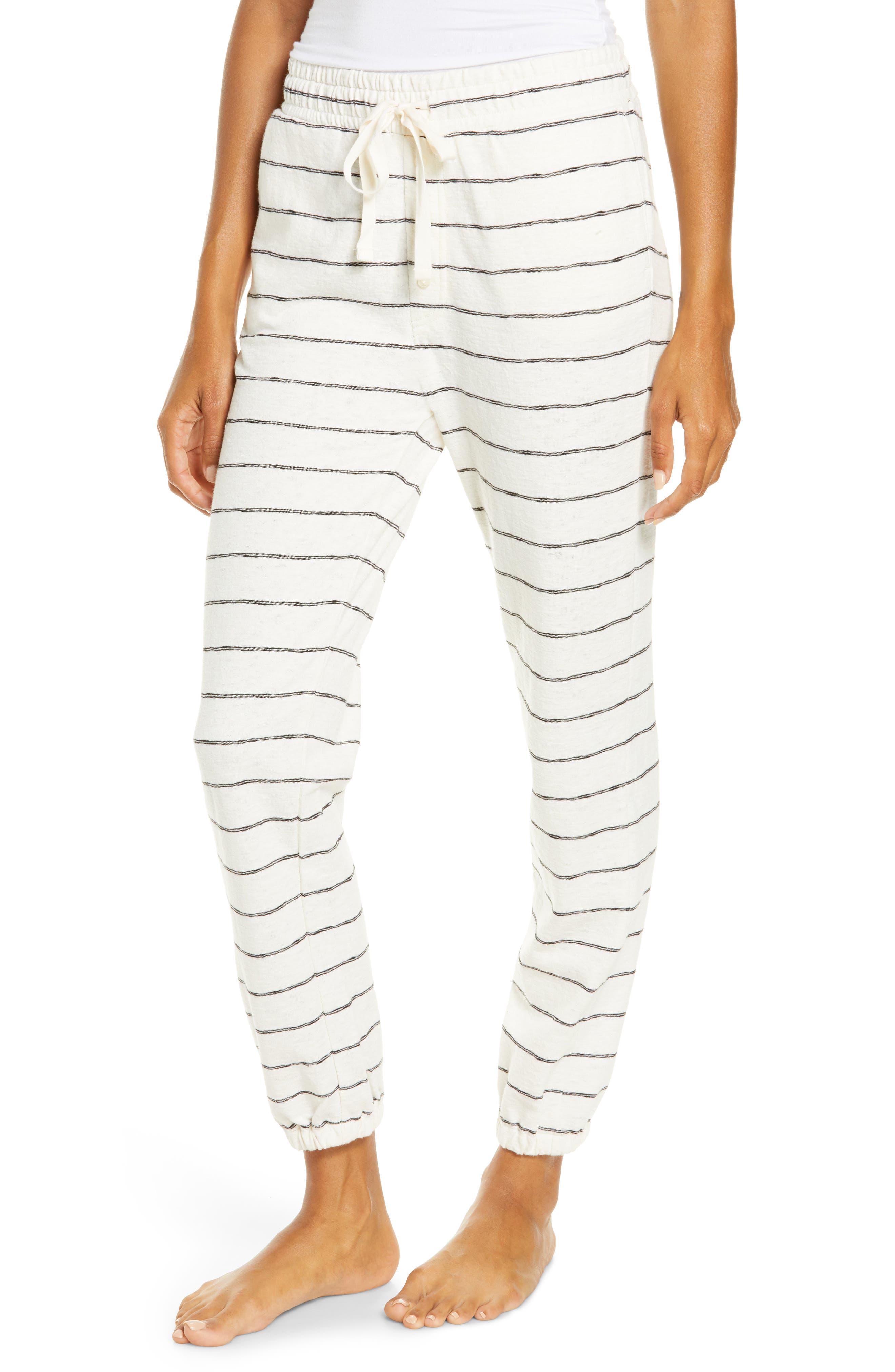 Women's Madewell Siesta Stripe Sweatpants