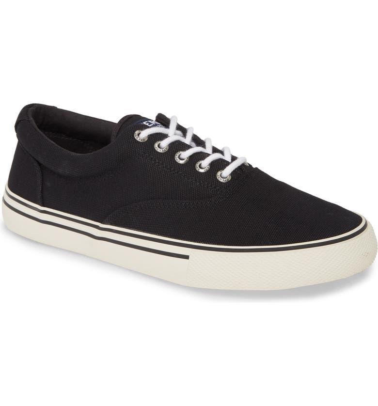 SPERRY Striper Storm CVO Sneaker, Main, color, BLACK CANVAS