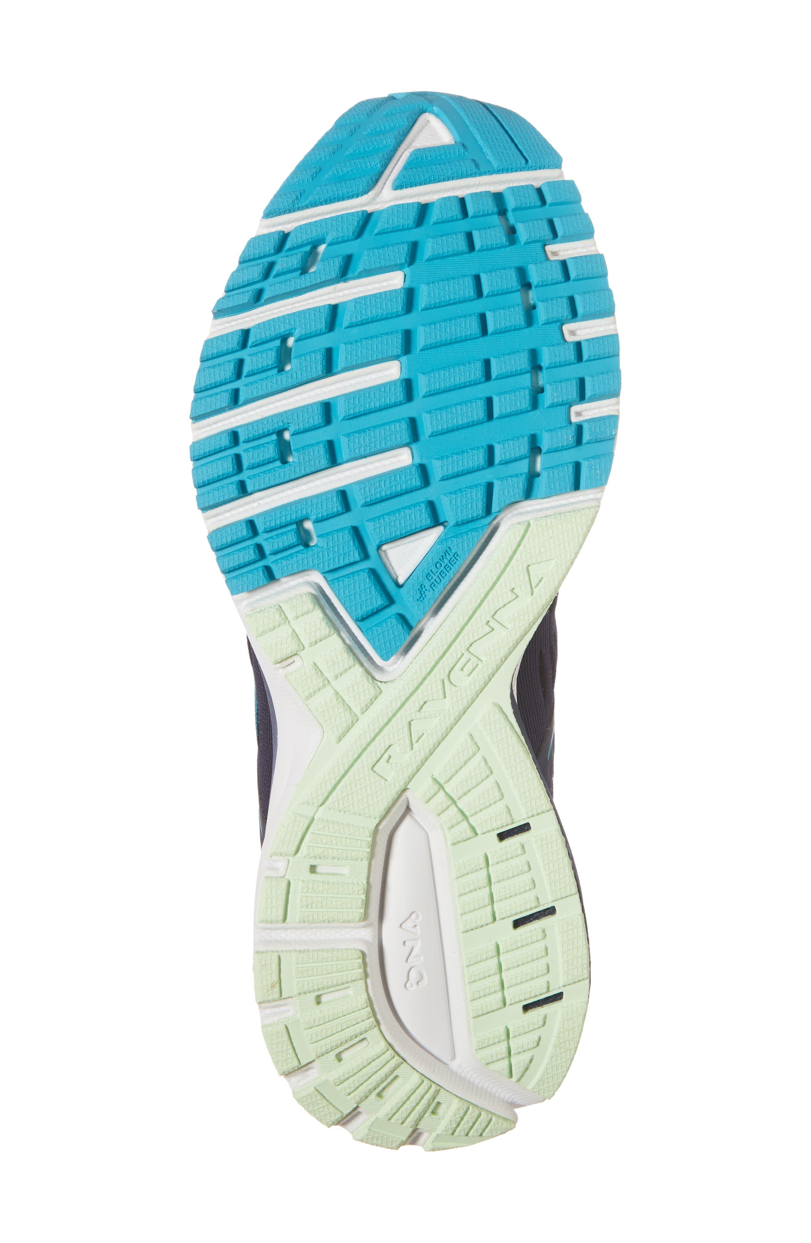 ,                             Ravenna 9 Running Shoe,                             Alternate thumbnail 6, color,                             NAVY/ BLUE/ GREEN