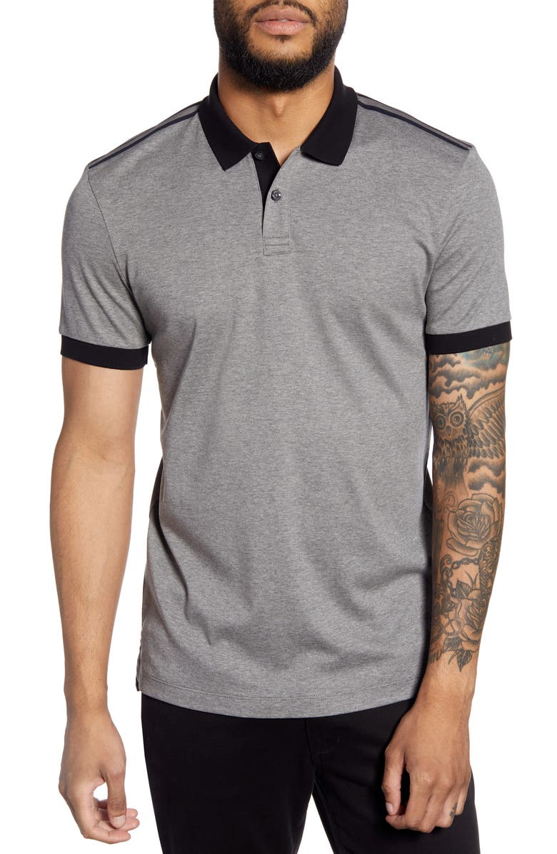 BOSS Phillipson Slim Fit Polo, Main, color, 030
