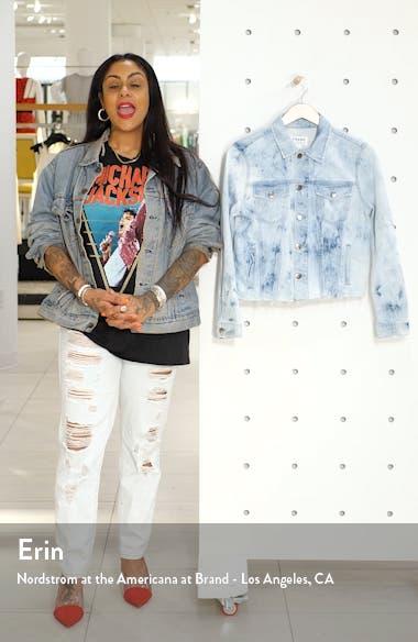 Raw Hem Denim Jacket, sales video thumbnail