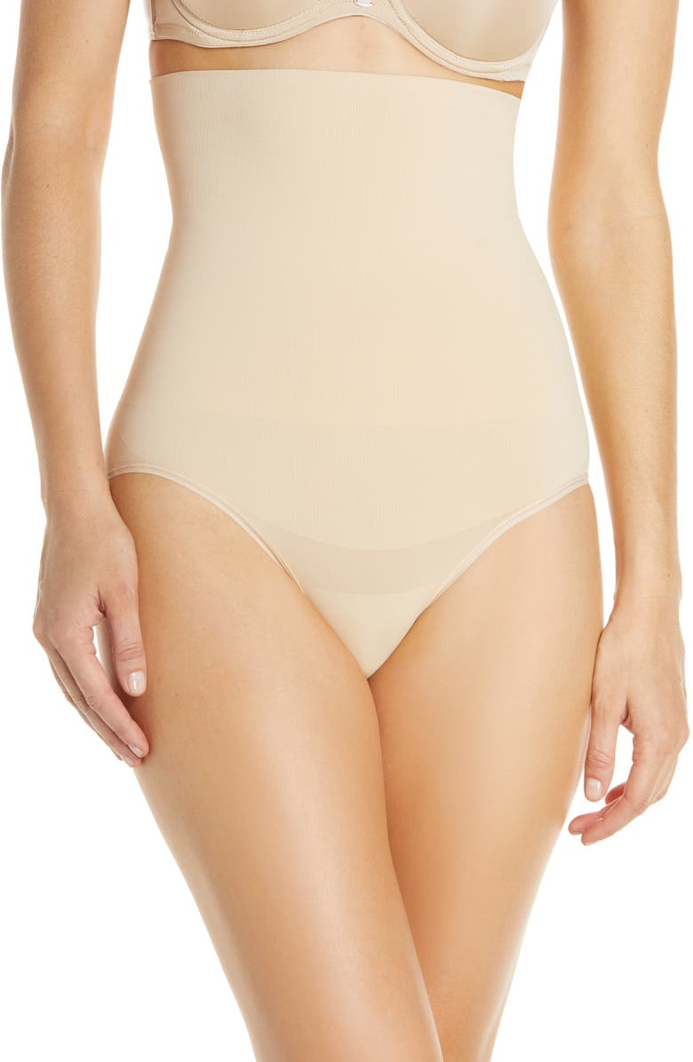 YUMMIE Cooling FX High Waist Briefs, Main, color, FRAPPE