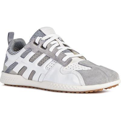 Geox Snake 25 Sneaker, Grey