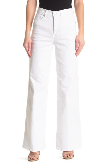 Image of BALDWIN High Rise Wide Leg Jeans