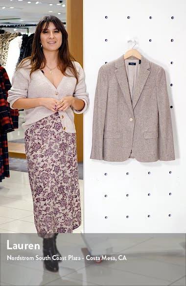 Staple Wool & Silk Blend Blazer, sales video thumbnail