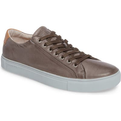 Blackstone Nm01 7 Eyelet Sneaker, Grey