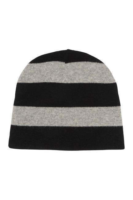 Image of Hickey Freeman Cashmere Reversible Beanie
