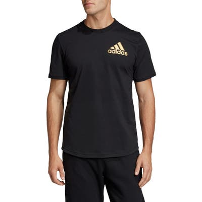 Adidas Stadium Id Perforated T-Shirt, Black