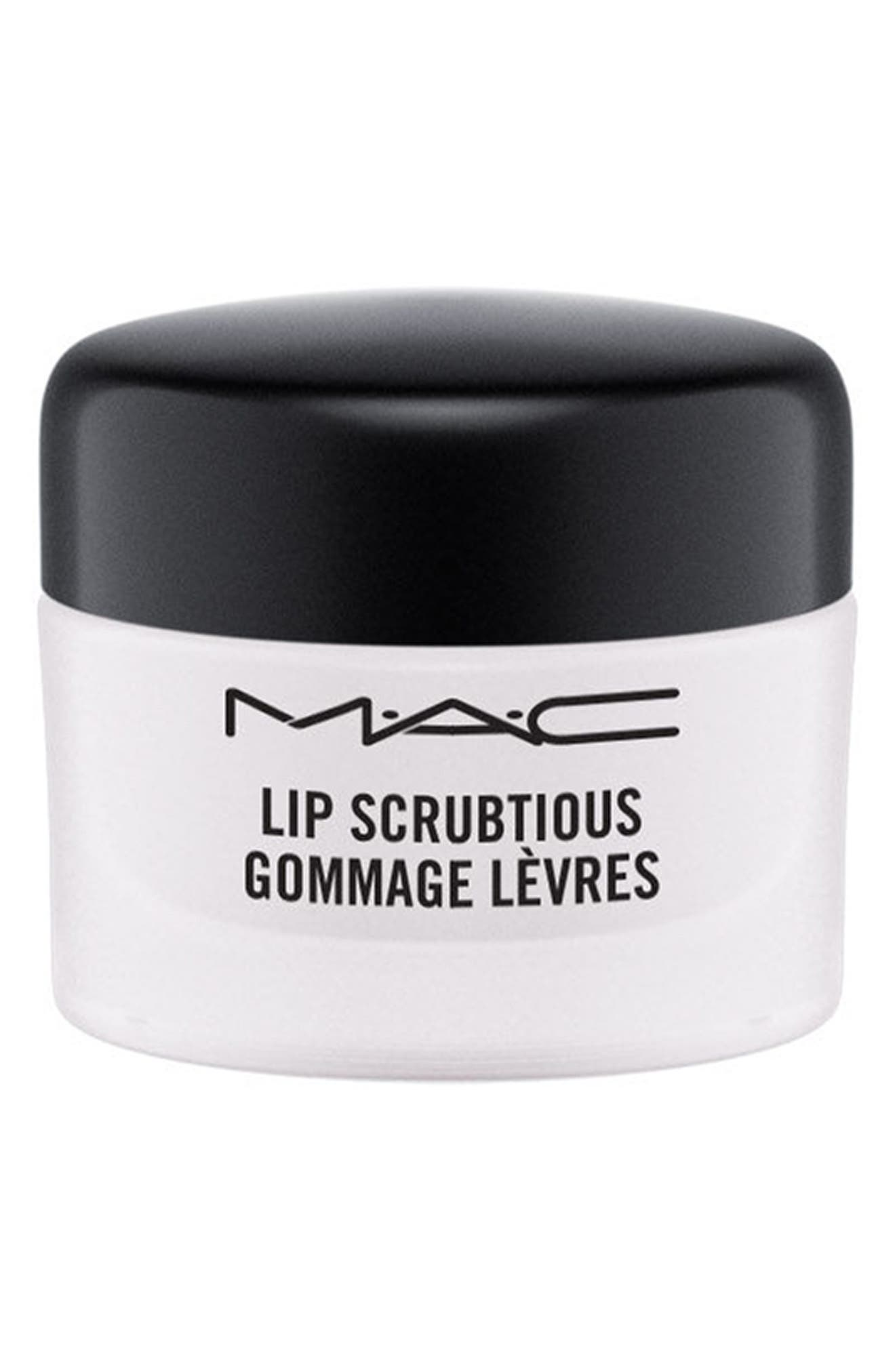 ,                             MAC Lip Scrubtious,                             Main thumbnail 1, color,                             SWEET VANILLA