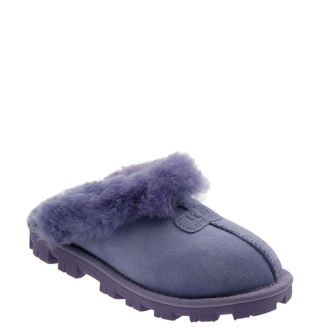 ,                             Genuine Shearling Slipper,                             Main thumbnail 177, color,                             LIL