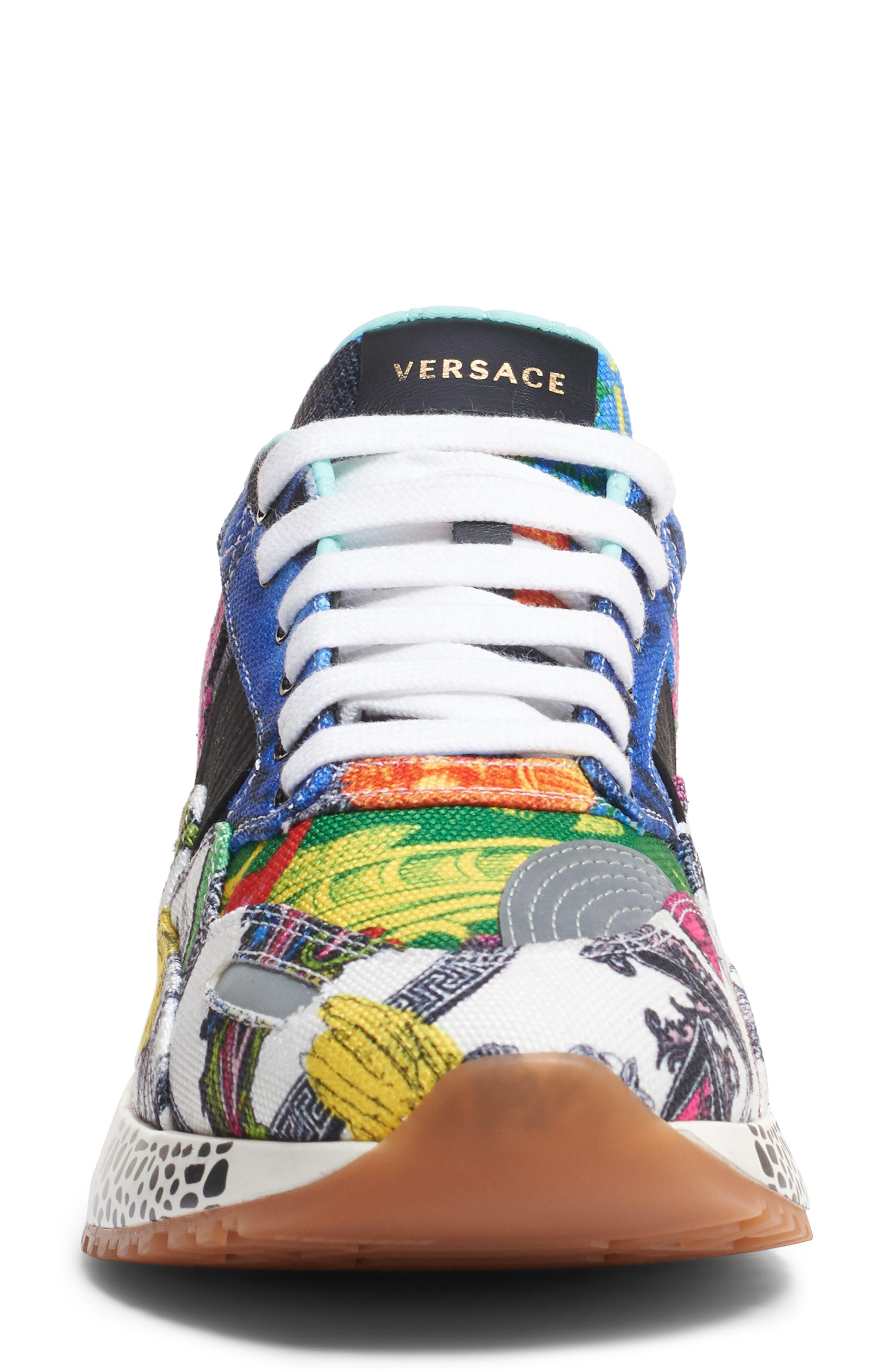 ,                             Multi Print Sneaker,                             Alternate thumbnail 4, color,                             400