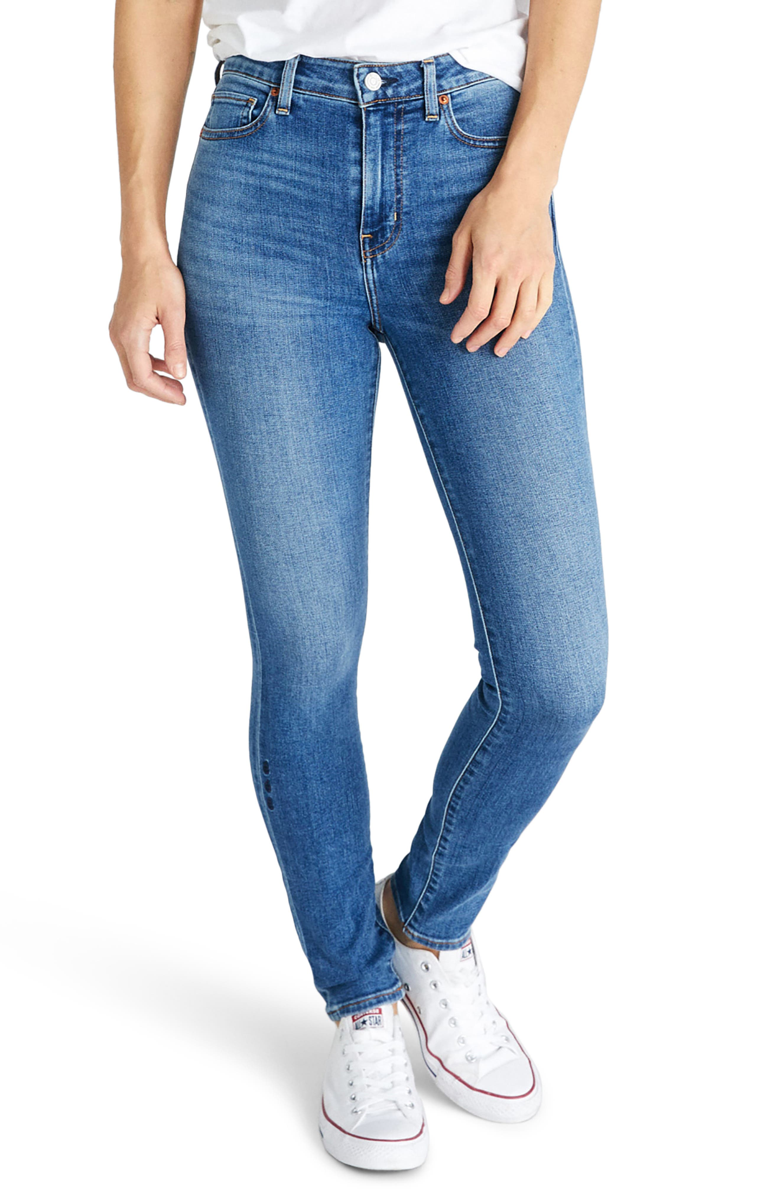 Image of ETICA Giselle Exposed Patch Pocket Skinny Jeans