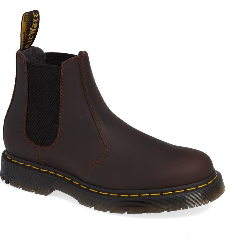 DR. MARTENS Chelsea Boot, Main, color, COCOA SNOWPLOW WP