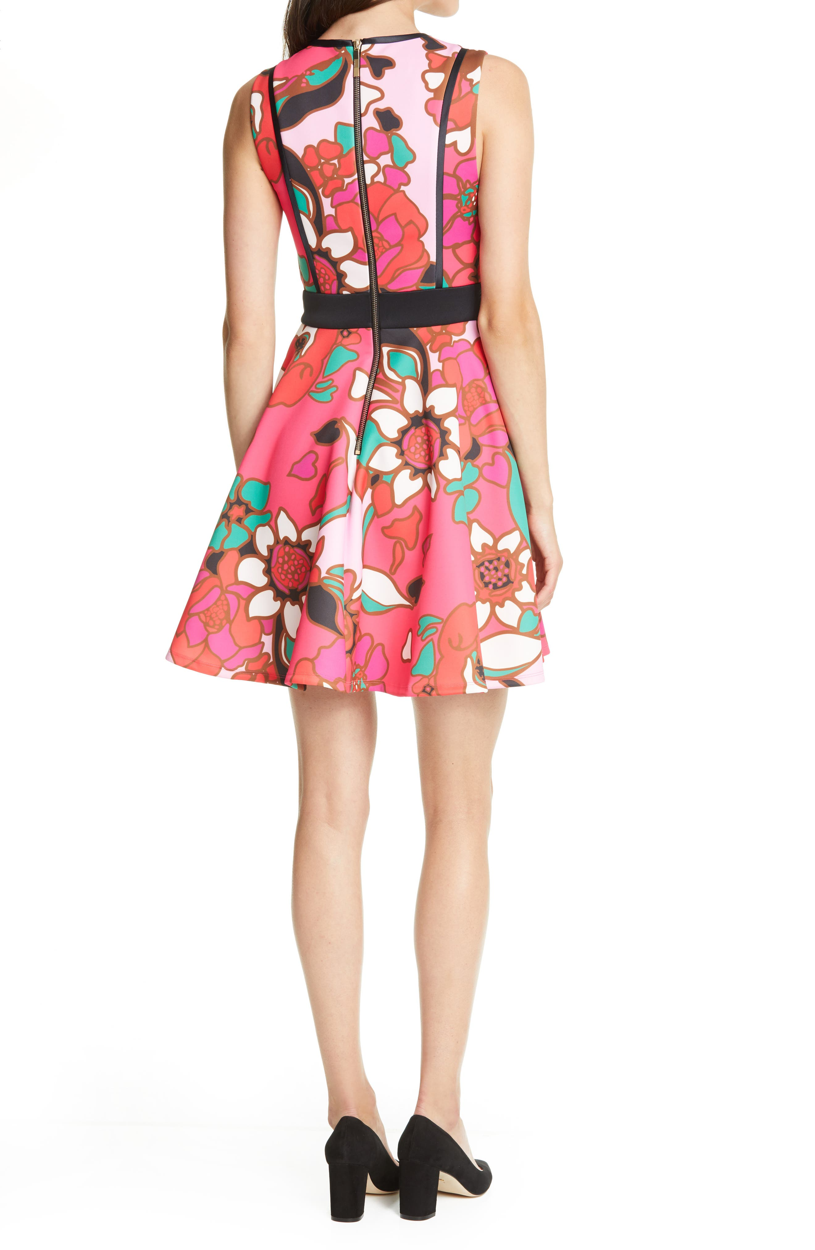 Ted Baker Torossa Jacquard Fitted Midi Pencil Cocktail Party Smart Dress 8 to 14