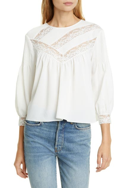 Joie Tops MARGETTE BLOUSE