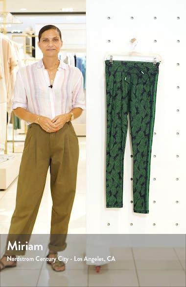 Palm Leaf Yoga Pants, sales video thumbnail