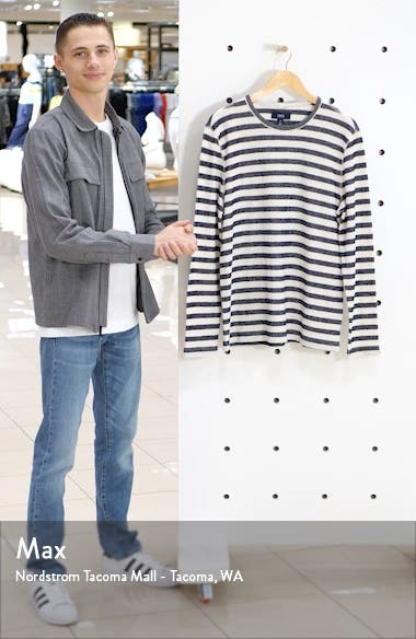 Stripe Long Sleeve T-Shirt, sales video thumbnail