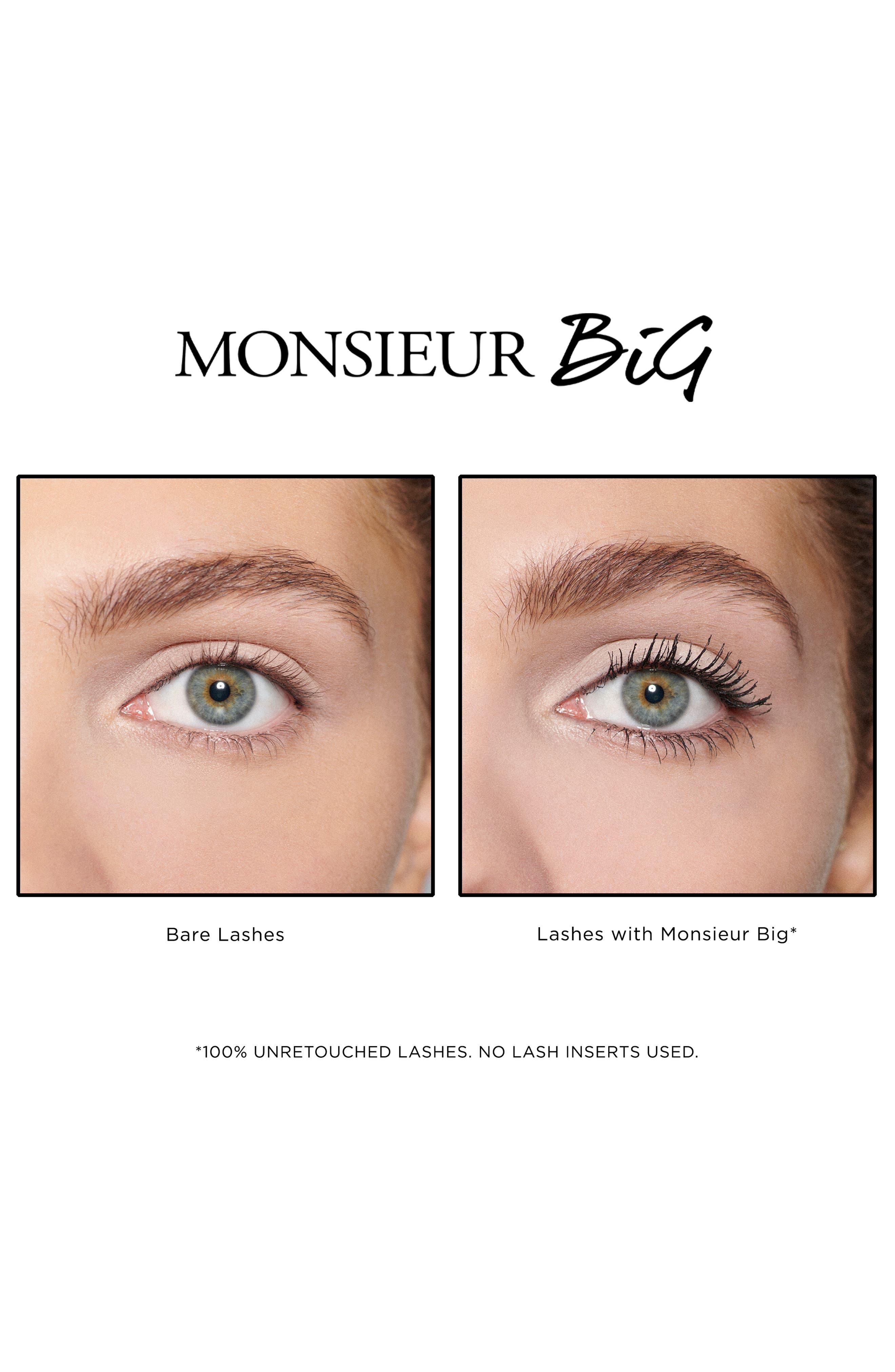 ,                             The Monsieur Big Waterproof Mascara,                             Alternate thumbnail 2, color,                             NO COLOR