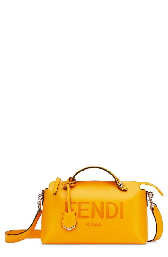 Fendi Bags MEDIUM BY THE WAY CALFSKIN LEATHER SATCHEL