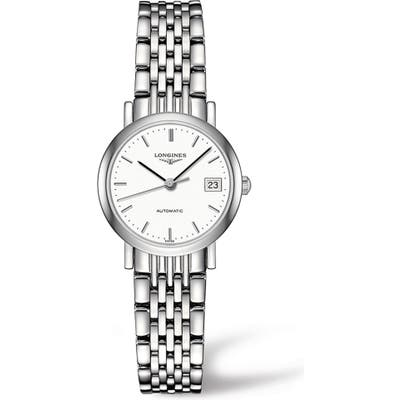 Longines Elegant Automatic Bracelet Watch, 25.5mm