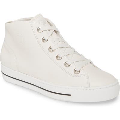 Paul Green Bronte High Top Sneaker - Ivory