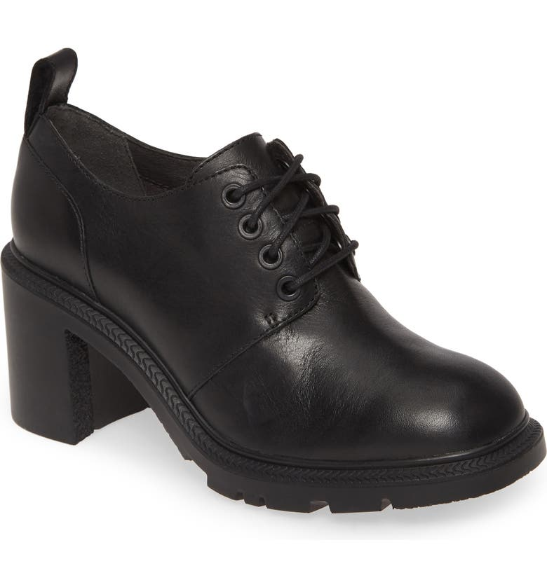 CAMPER Whitnee Bootie, Main, color, BLACK LEATHER
