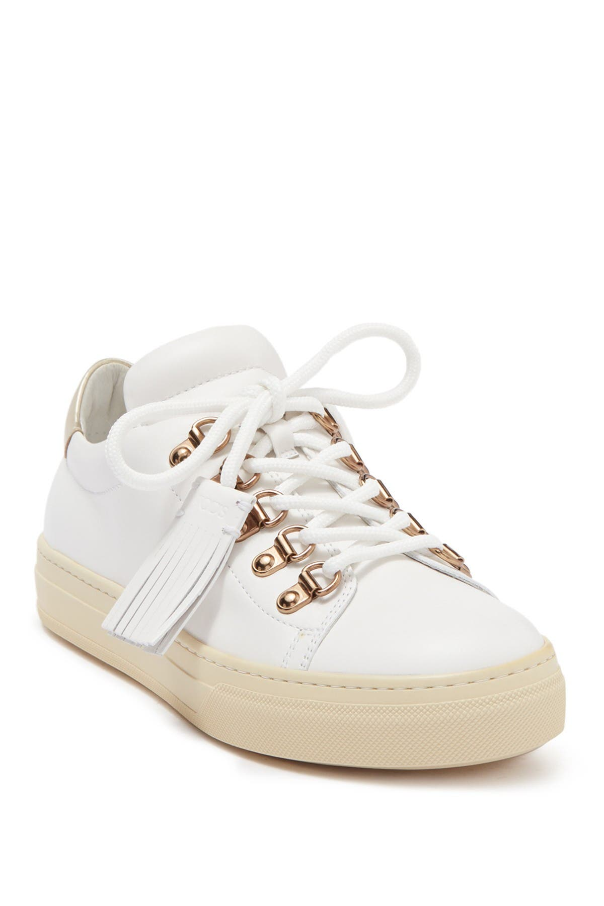 Image of Tod's Sportivo Fringe Leather Sneaker