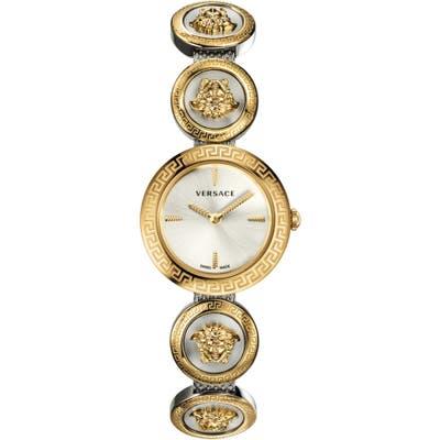 Versace Medusa Stud Icon Bracelet Watch, 2m