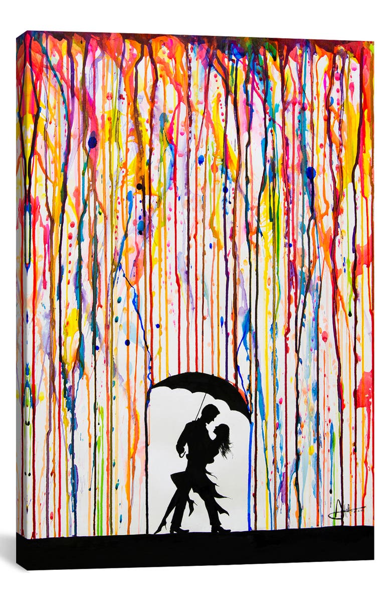 ICANVAS Tempest by Marc Allante Giclée Print Canvas Art, Main, color, BLACK
