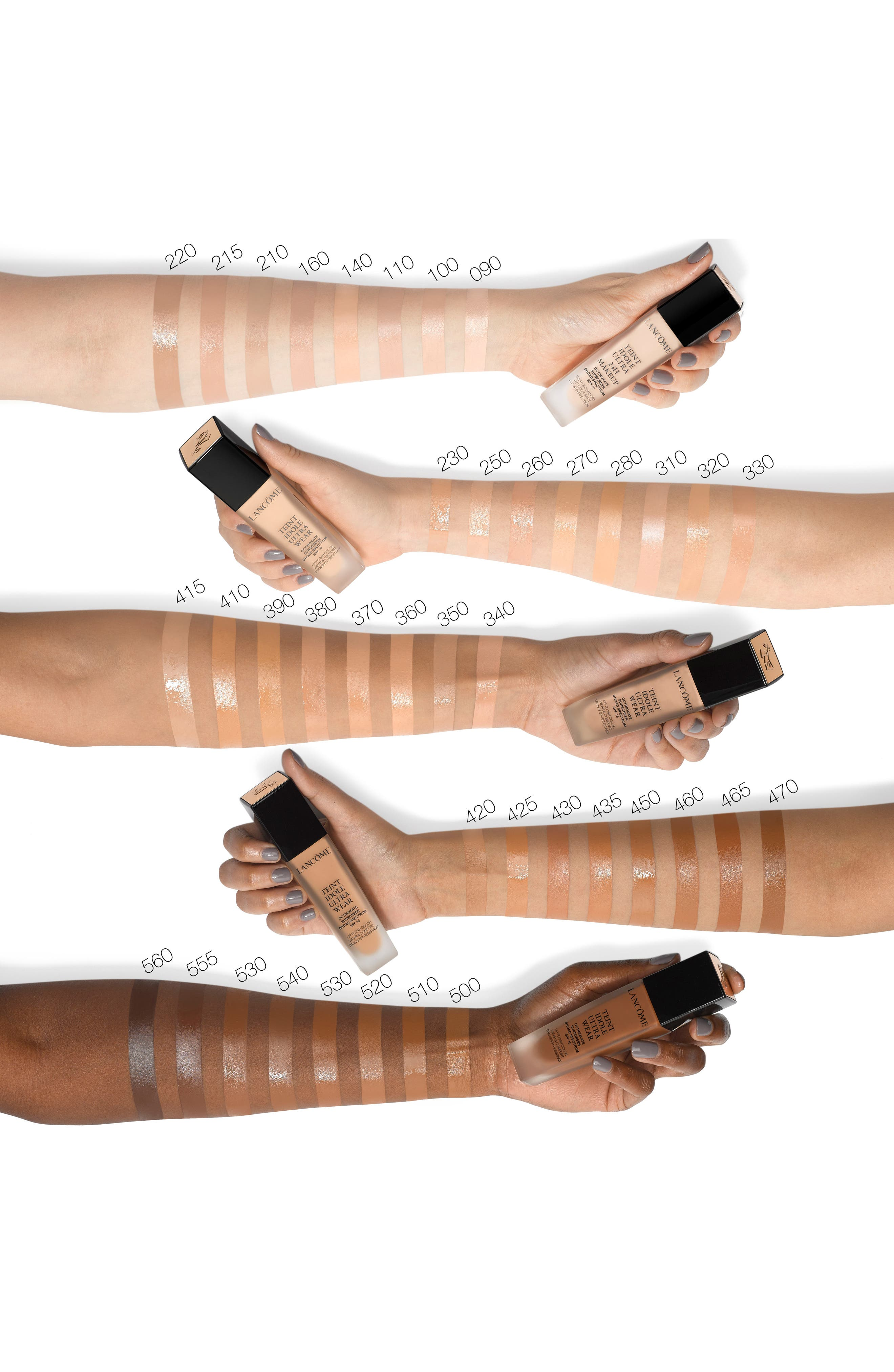 ,                             Teint Idole Ultra Liquid 24H Longwear SPF 15 Foundation,                             Alternate thumbnail 2, color,                             495 SUEDE W