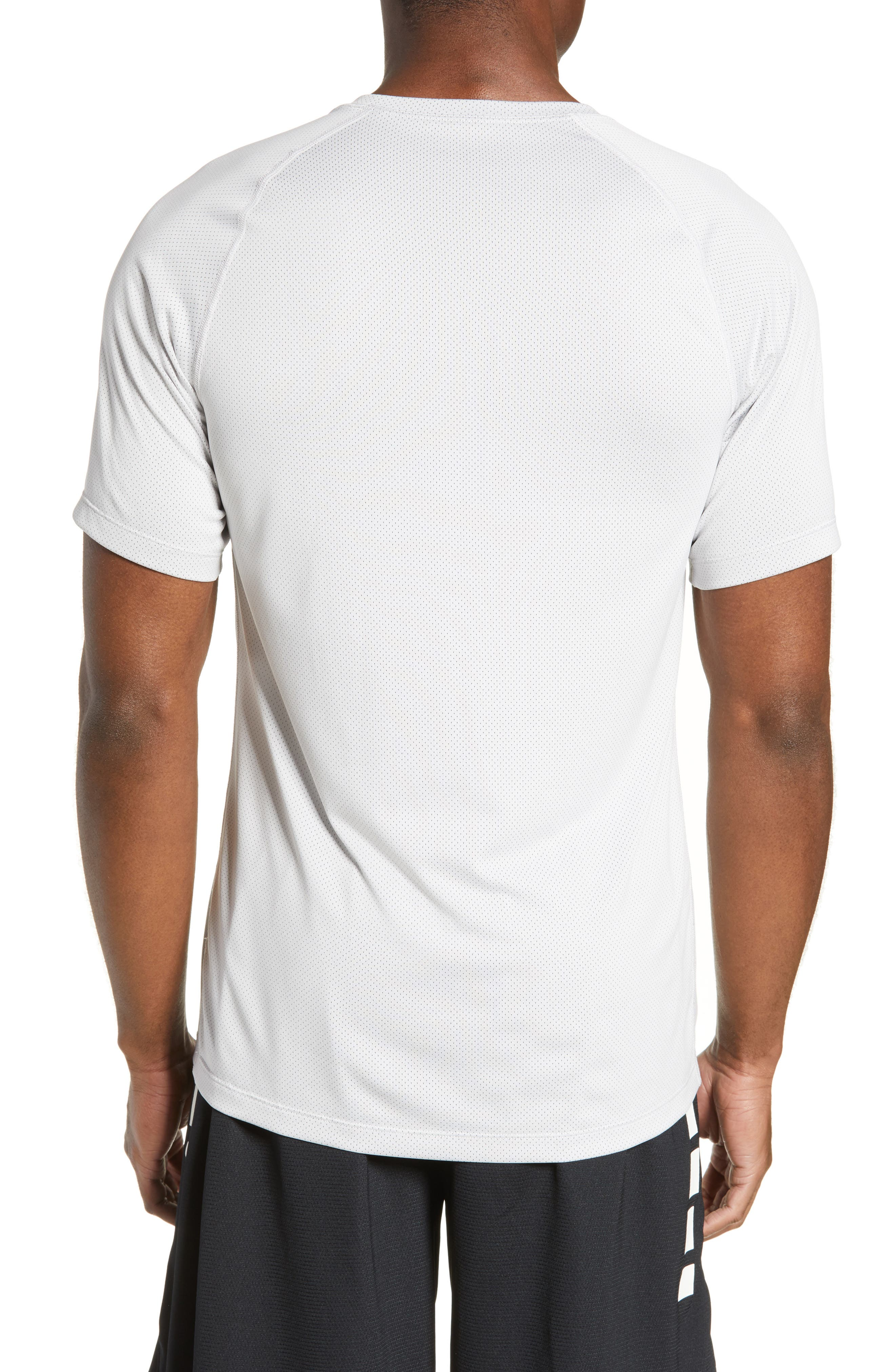 ,                             Pro Dri-FIT Perforated T-Shirt,                             Alternate thumbnail 2, color,                             VAST GREY/ GUNSMOKE/ VAST GREY