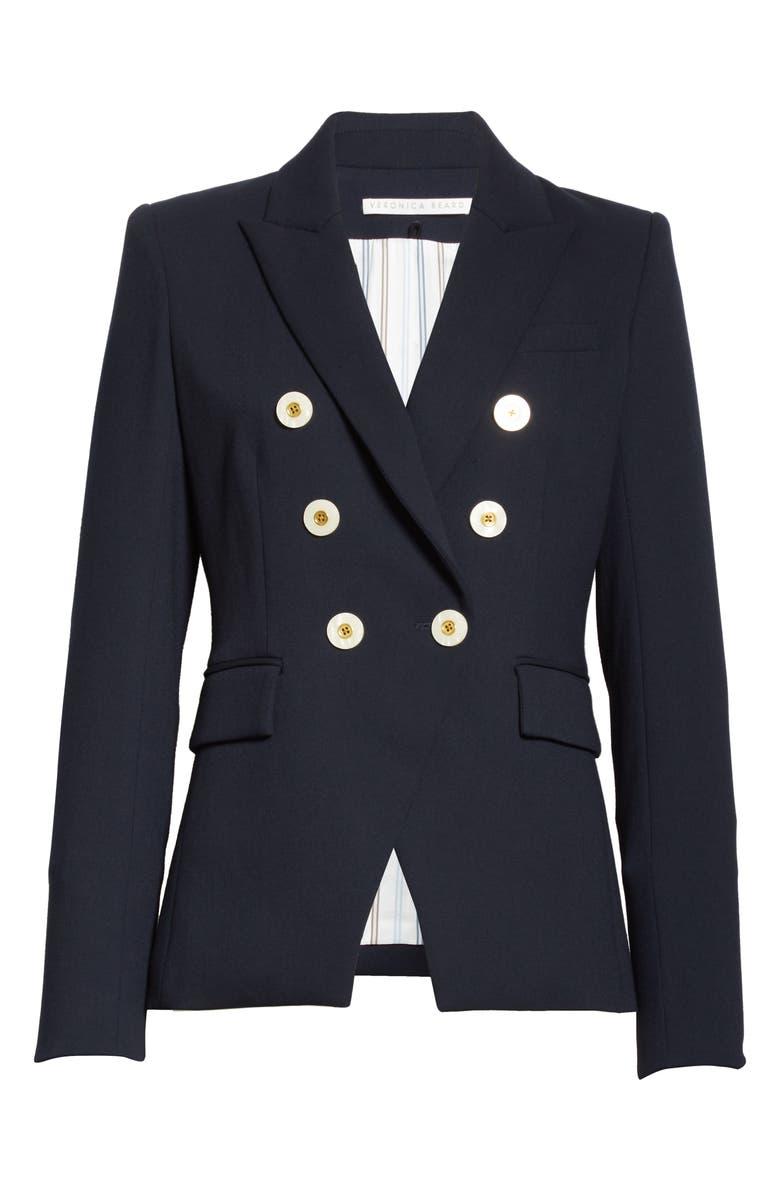 VERONICA BEARD Miller Dickey Jacket, Main, color, NAVY
