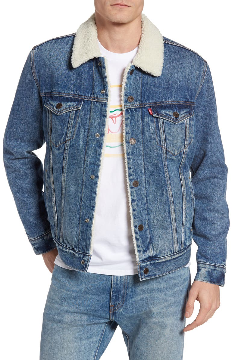 LEVI'S<SUP>®</SUP> Type 3 Trucker Jacket, Main, color, 400