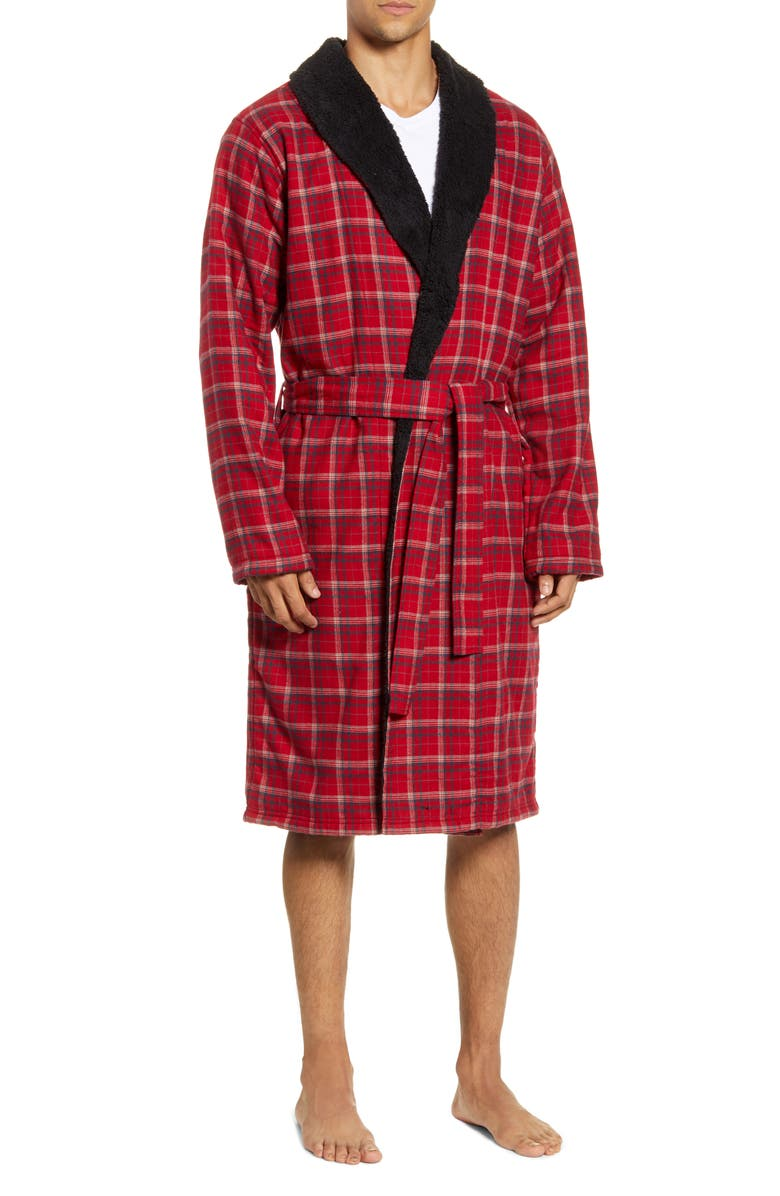 UGG<SUP>®</SUP> Kalib Robe, Main, color, RED