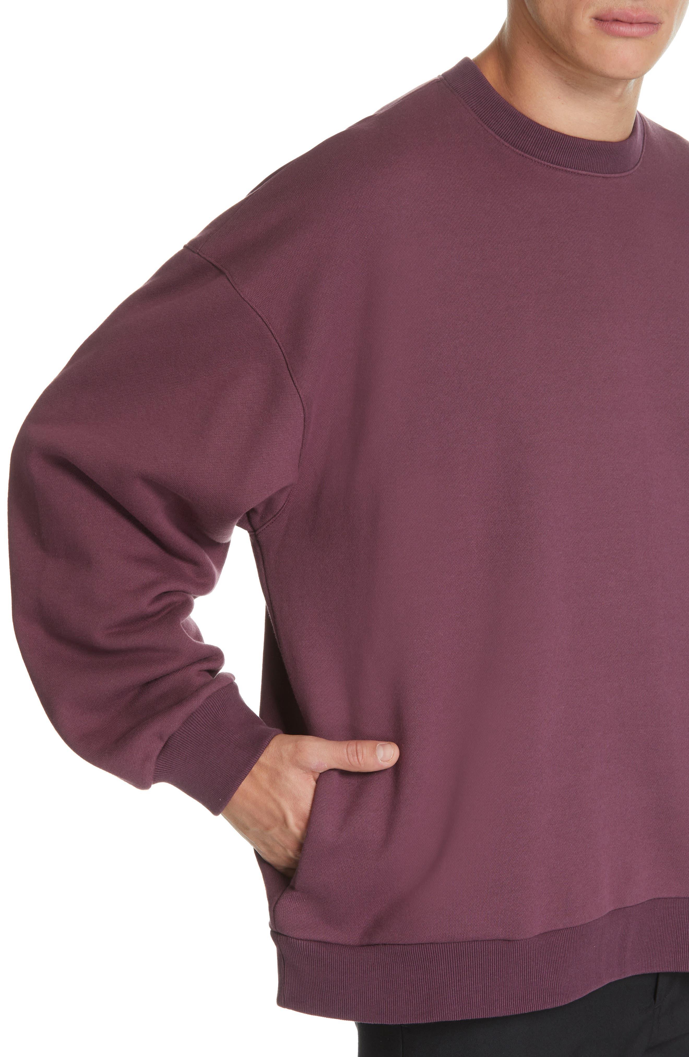 ,                             Oversize Crewneck Sweatshirt,                             Alternate thumbnail 10, color,                             930