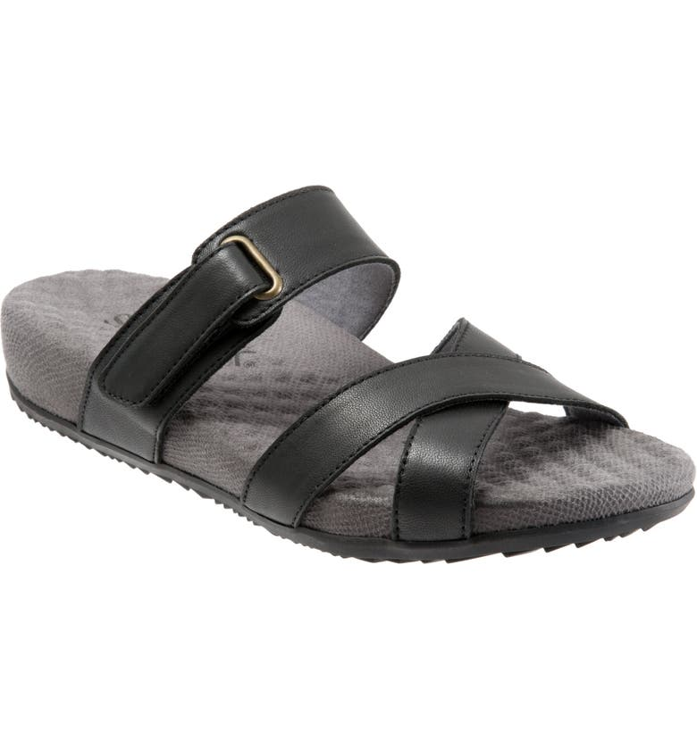 SOFTWALK<SUP>®</SUP> Brimley Sandal, Main, color, 001