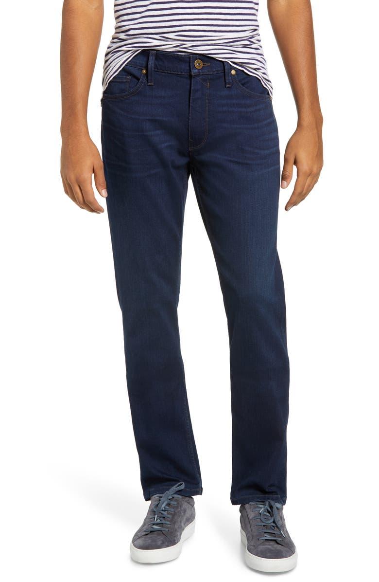 PAIGE Transcend Lennox Slim Fit Jeans, Main, color, 400