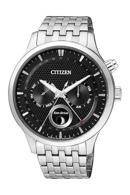 Image of Citizen Men's Eco-Drive Moon Phase Analog  Watch, 42mm