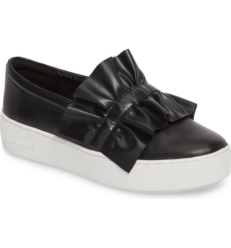 MICHAEL MICHAEL KORS Bella Slip-On Sneaker, Main, color, 001