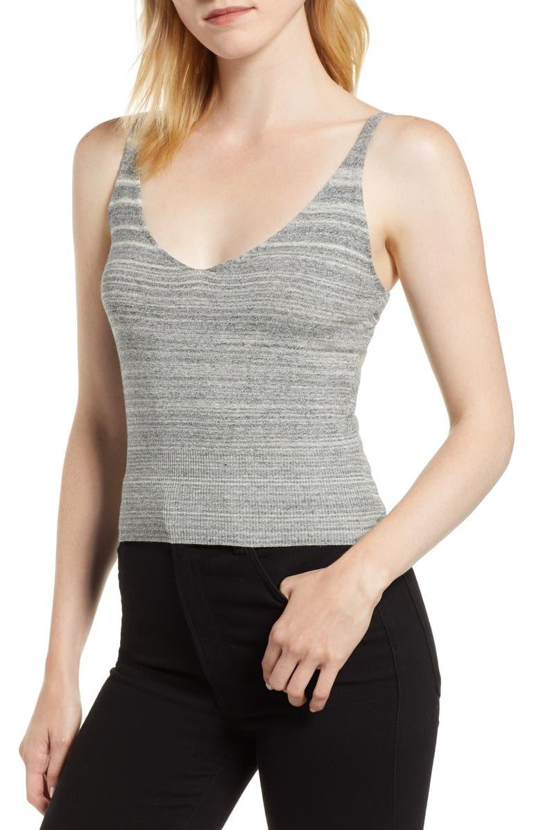 KERSH Camisole Knit Sweater Tank, Main, color, 023