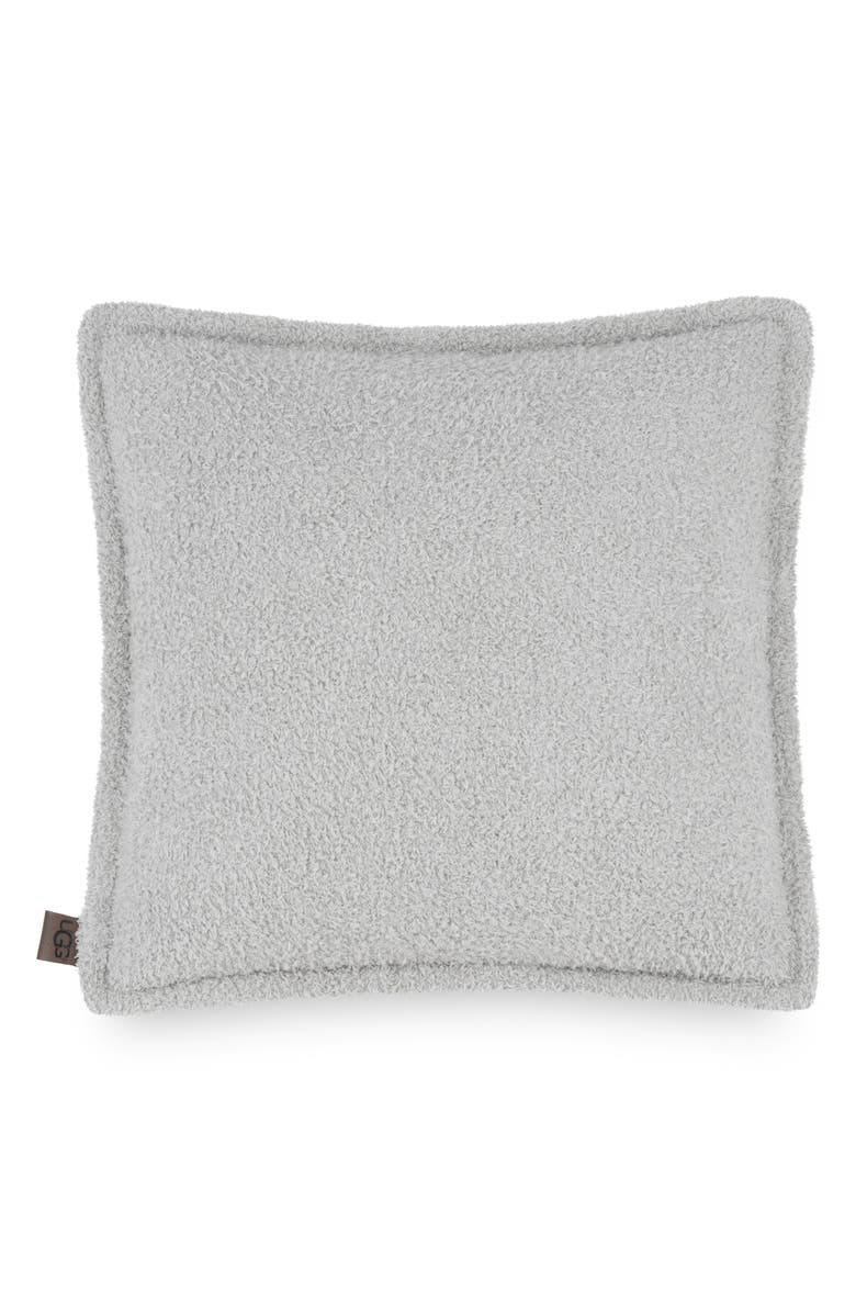 UGG<SUP>®</SUP> Ana Fuzzy Pillow, Main, color, SEAL GREY
