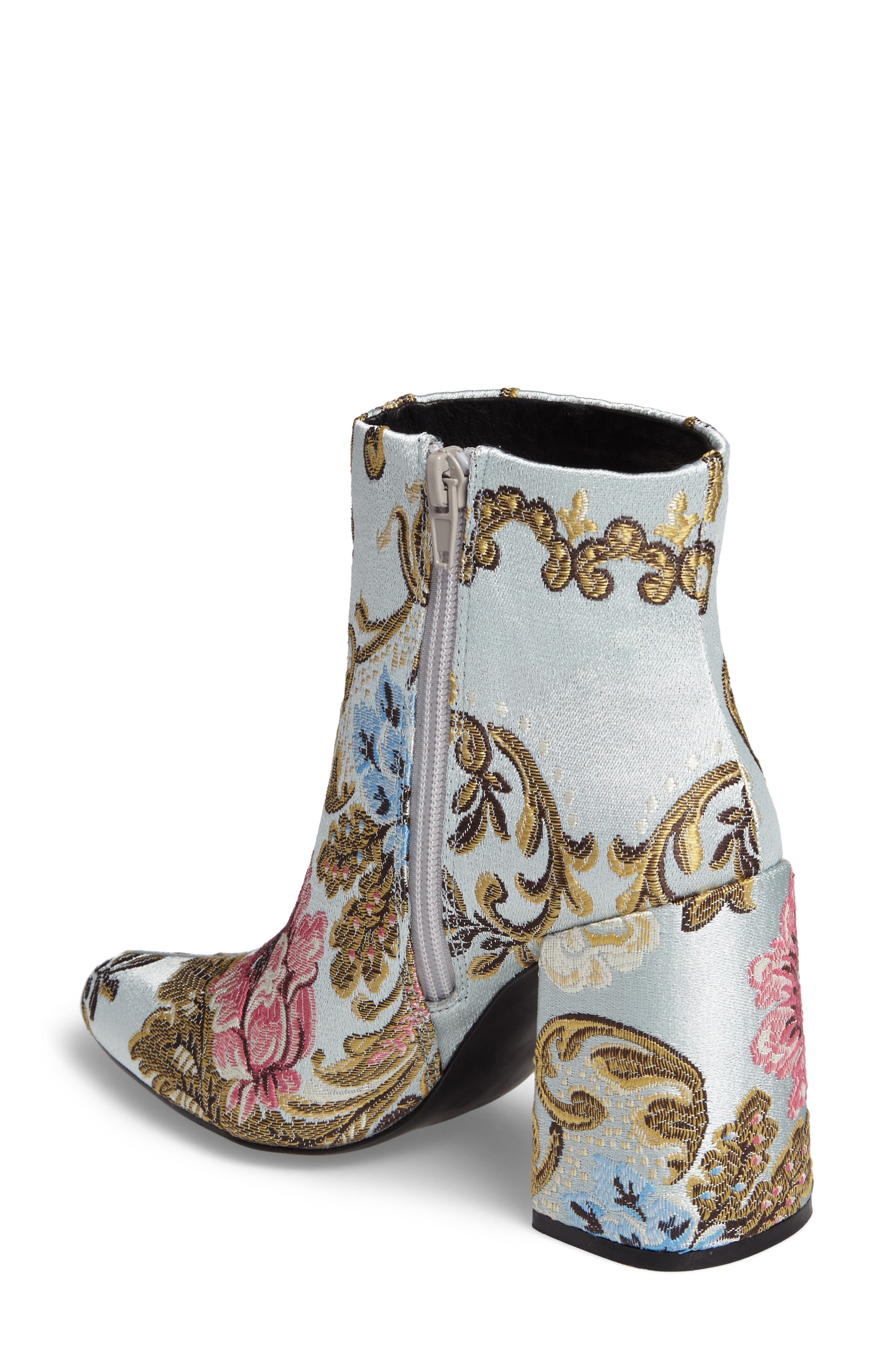 ,                             Emmy Brocade Bootie,                             Alternate thumbnail 8, color,                             400