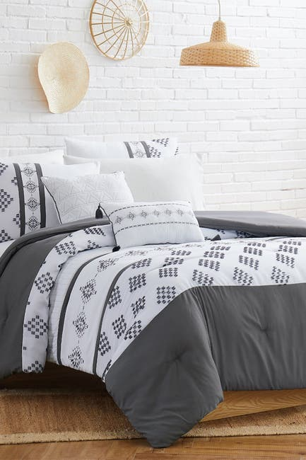 Image of Modern Threads 5-Piece Embroidered Comforter Set - King