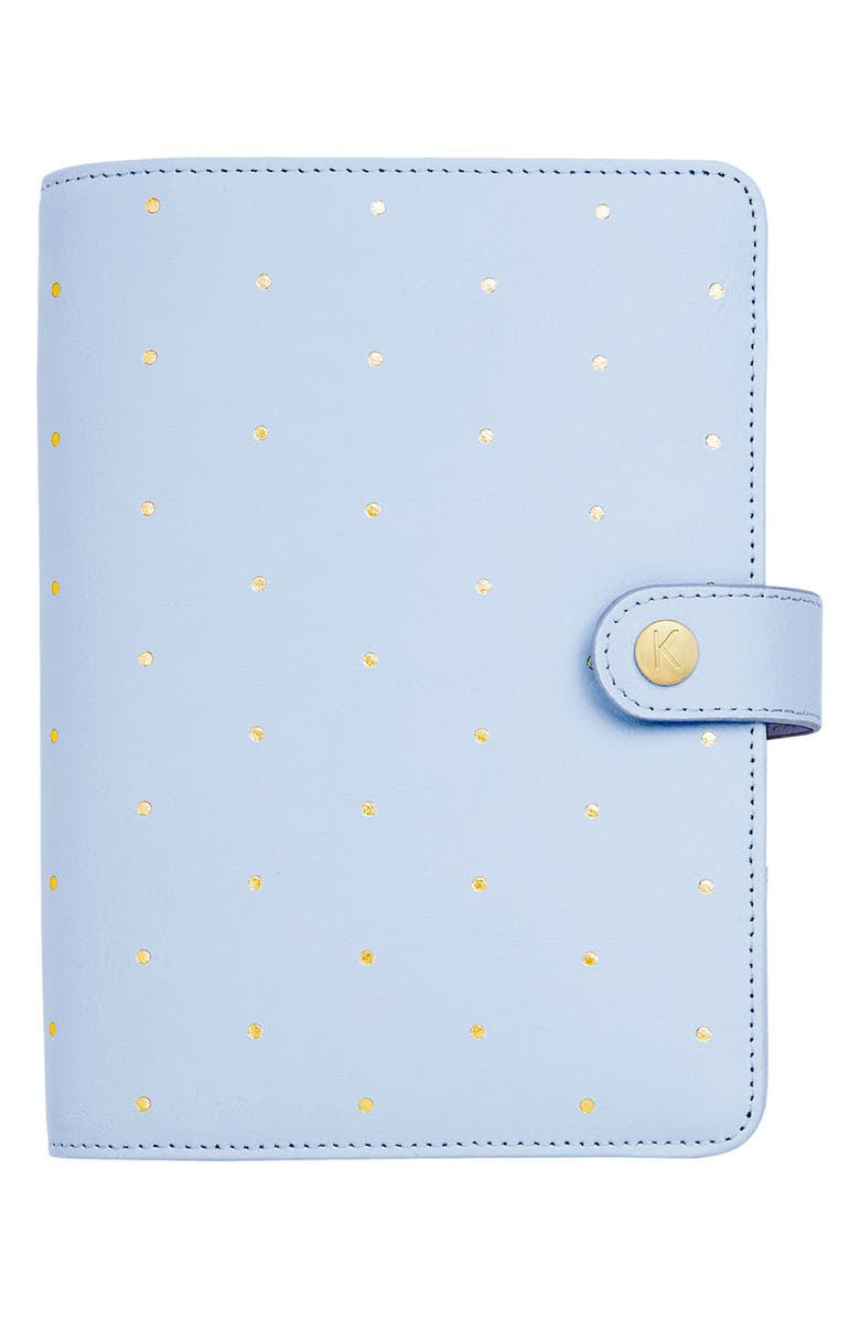 KIKKI.K Medium Leather Personal Planner, Main, color, 400