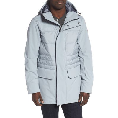 Canada Goose Breton 675-Fill Power Down Coat, Grey