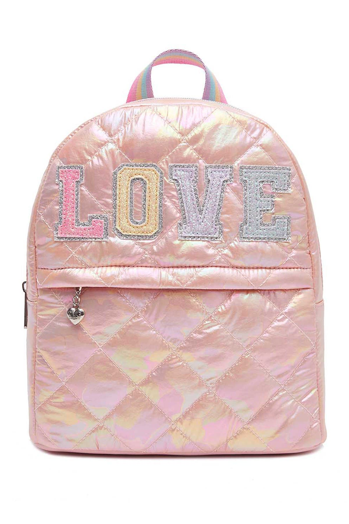 Image of OMG! Accessories Love Puffer Mini Backpack